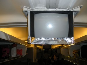 The plane was held together by duct tape.