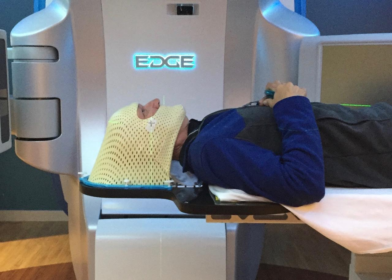 Radiation therapy isn't so bad…but it can make you feel pretty close to the Edge.